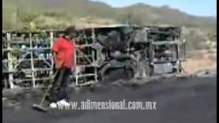 Aparece Fantasma en un accidente de Carretera (Video Paranormal)