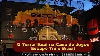 Spooky Houses e 89 Freak Show - Escape Time Brasil (parte1)