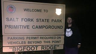 FINDING BIGFOOT IN SALT FORK STATE PARK PART ONE REAL VIDEO FOOTAGE
