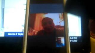 spirit chat; Skype with  Aleena 001