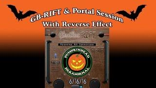 GB-RIFT Ghost Box & Portal Session with Reversed Audio Effect 6/16/16