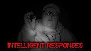 INTELLIGENT GHOST RESPONSES (EVP)  IN HAUNTED GRAVEYARD