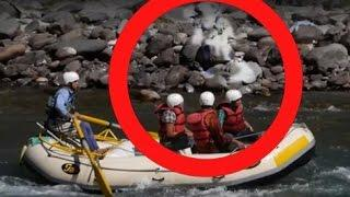 Real ghost video|| RAFTING CREW SPOOKED BY GHOST! BIGFOOT GHOST?? Scary Videos