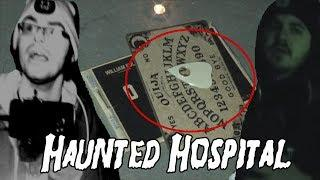 OLD SOUTH PITTSBURG HOSPITAL INVESTIGATION PART SEVEN: Ouija Board, EVPs, Strange Sounds, Spirit Box