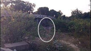 Black ghost entity caught running on tape * SCARY VERY SCARY*