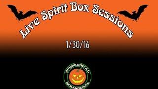 LIVE Spirit Box Sessions, Attempting Spirit Communication LIVE - Explaining Equipment to the Spirits
