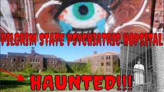 """HAUNTED & ABANDONED """"PILGRIM STATE IN NY"""" PARANORMAL!!!"""
