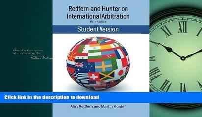 READ ONLINE Redfern   Hunter on International Arbitration READ NOW PDF ONLINE