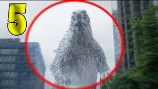 5 REAL ALIVE GODZILLA CAUGHT ON CAMERA & SPOTTED IN REAL LIFE!