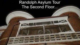 Randolph Asylum Ghost Hunt Tour Pt. 3 - The Second Floor