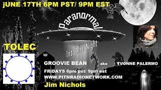 Groovie Bean Show With Tolec Andromeda council Jim Nichols