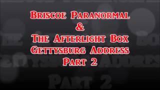 The Afterlight Box Gettysburg Address Anniversary