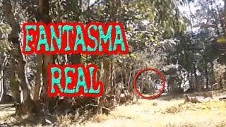 Fantasma Real en un bosque!!