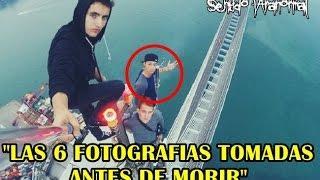 LAS 6 FOTOGRAFIAS TOMADAS ANTES DE MORIR [Sentido Paranormal]
