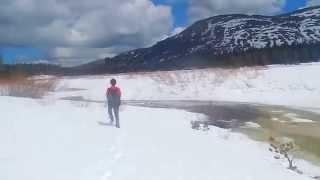 "Showers Lake - Part 10 ""Crossing The Iced Over Truckee River"""