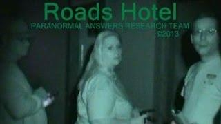 Paranormal Answers Research Team, HIDE & SEEK WITH A SPIRIT, Roads Hotel, Atlanta, IN 12/6/13
