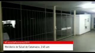 Los Extraños sucesos paranormales en el Ministerio de Salud de Catamarca