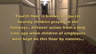 Ghost Hunting The Stanley Hotel June 4, 2013