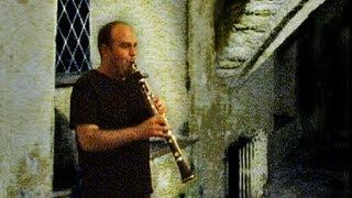Mad Clarinet Skills in a Creepy Crypt