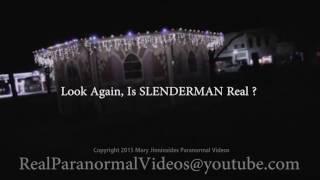 Real or Fake? Slenderman Stalking Humans | ¿Real o falso? Slenderman que acecha a los humanos