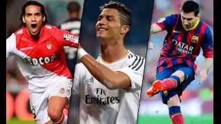 TOP 10 MEJORES JUGADORES DE FUTBOL DEL MUNDO 2014