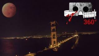 360° Horror Short | BLOOD MOON ECLIPSE | Cardboard Horror #360video