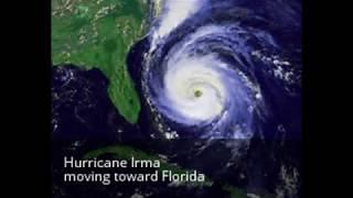 Hurricane Irma News 150 mph winds- 3 storms Jose, Katia, Irma Sept. 6, 2017 Florida