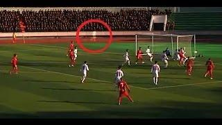 Football Spectators Spooked By Stadium Ghost in Indonesia Scary Videos