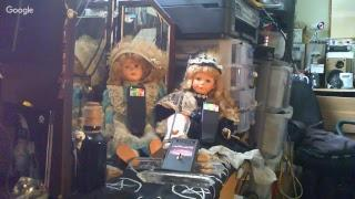 Steves-Haunted-Home The Dolls  HANNA & CECE:  Live stream while Sleeping (CHAT OFF)