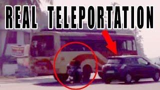 Teleportation Caught On Dash Camera | Scary Videos | Breathtaking Footage | Best Teleportation Clip