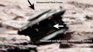 Alien Drone Found On Mars?