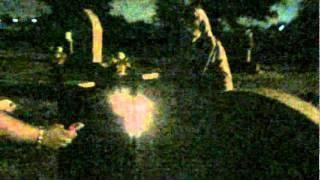 TNT Paranormal Investigators at cemetery  9/10/11 part 1