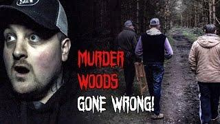 Haunted Finders Murder Woods Ghost Hunting (GONE WRONG)