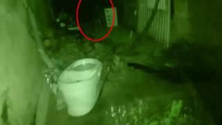"""Child Ghost Spotted On A Garage"" Scary Videos 