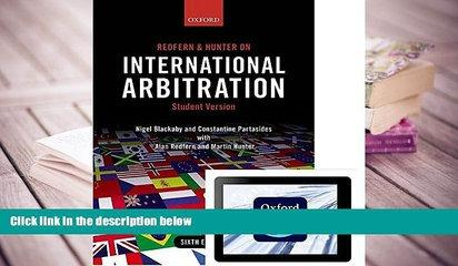 PDF [DOWNLOAD] Redfern and Hunter on International Arbitration (Paperback and eBook) FOR IPAD