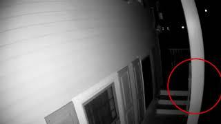Ghost Caught on Home Security Camera