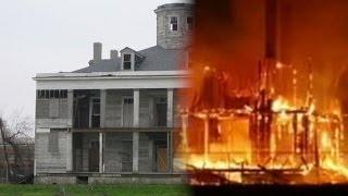 Stoned 'Ghost Hunters' Burn Down Historic LA Plantation