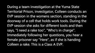 San Diego Ghost Hunters - Yuma State Prison - Here - 5 -2-2013