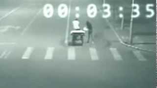 Υπεράνθρωπος τηλεμεταφέται και γλιτώνει το ατύχημα!Απίστευτο βίντεο από την Κίνα.