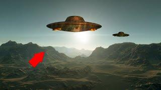 Incredible UFO Sightings Caught On Tape!! Closer View Of UFO!!