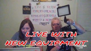 The G Team Paranormal LIVE DISCUSSION.
