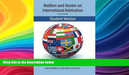 Buy  Redfern   Hunter on International Arbitration Nigel Blackaby  Full Book