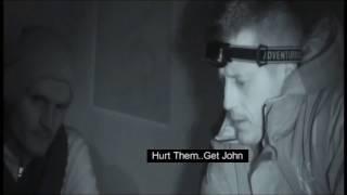 REAL VIDEO FOOTAGE OF SHADOW MAN at haunted Irish jail