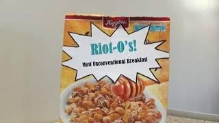 """""""Riot-O's! - Most Unconventional Breakfast"""" 
