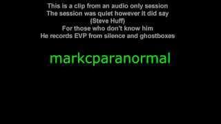 Amazing Ghost Box Spirit Box Evidence Calling Steve Huff