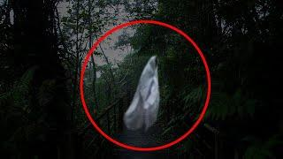 Unbelievable Ghostly Figure Caught on Camera !! Real Ghost Scary Video Footage 2018