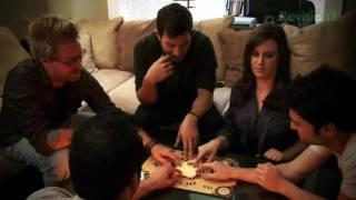 PARANORMAL ACTIVITY Cast Play Ouija Board