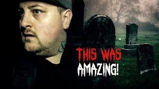 Haunted Finders Haunted Cemetery Ghost Hunting (Insane Paranormal Activity)