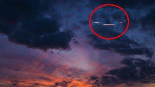 'Invisible UFOs' Fill the Skies | Night Vision UFO Sightings