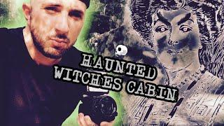 CREEPY ABANDONED WITCHES CABIN IS REALLY HAUNTED